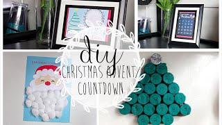 DIY Christmas Countdowns/ Advent Calendar
