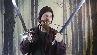 First impression: Arming cap, rondel dagger, A&A riding sword, Sinclair hilt