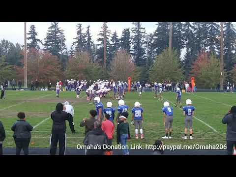 10/23/18 Saghalie vs illahee middle school football game 2nd-Half Only