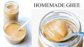 Homemade Indian Ghee in Instant Pot || Brown Butter Ghee || Clarified Butter || Desi ghee