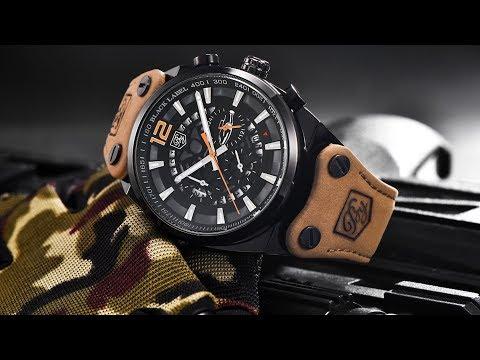 Fashion Brand Military waterproof Quartz Watch Clock