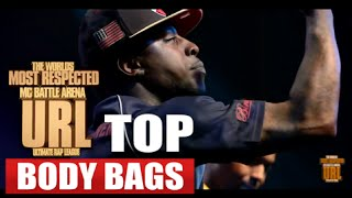 TOP 10 SMACK/URL BODY BAGS OF ALL TIME