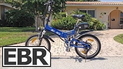 EG Vienna 250 EX Video Review - Full Suspension Folding Electric Bike with Assist and Throttle