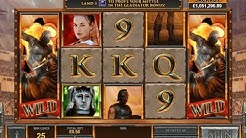 Gladiator Road to Rome Online Slot from Playtech with Progressive Jackpot