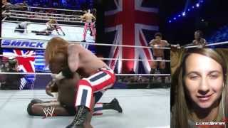 WWE Smackdown 11/15/13 Union Jacks vs Prime Time Players Rtruth Live Commentary