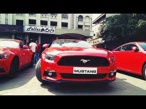 Ford Mustang GT In Indore, India