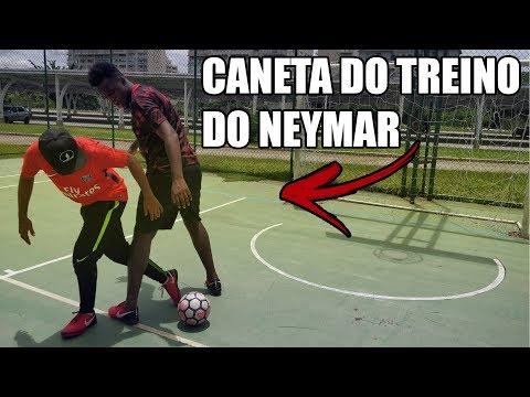 CANETA DO NEYMAR NO TREINO - APRENDA - FOOTZ