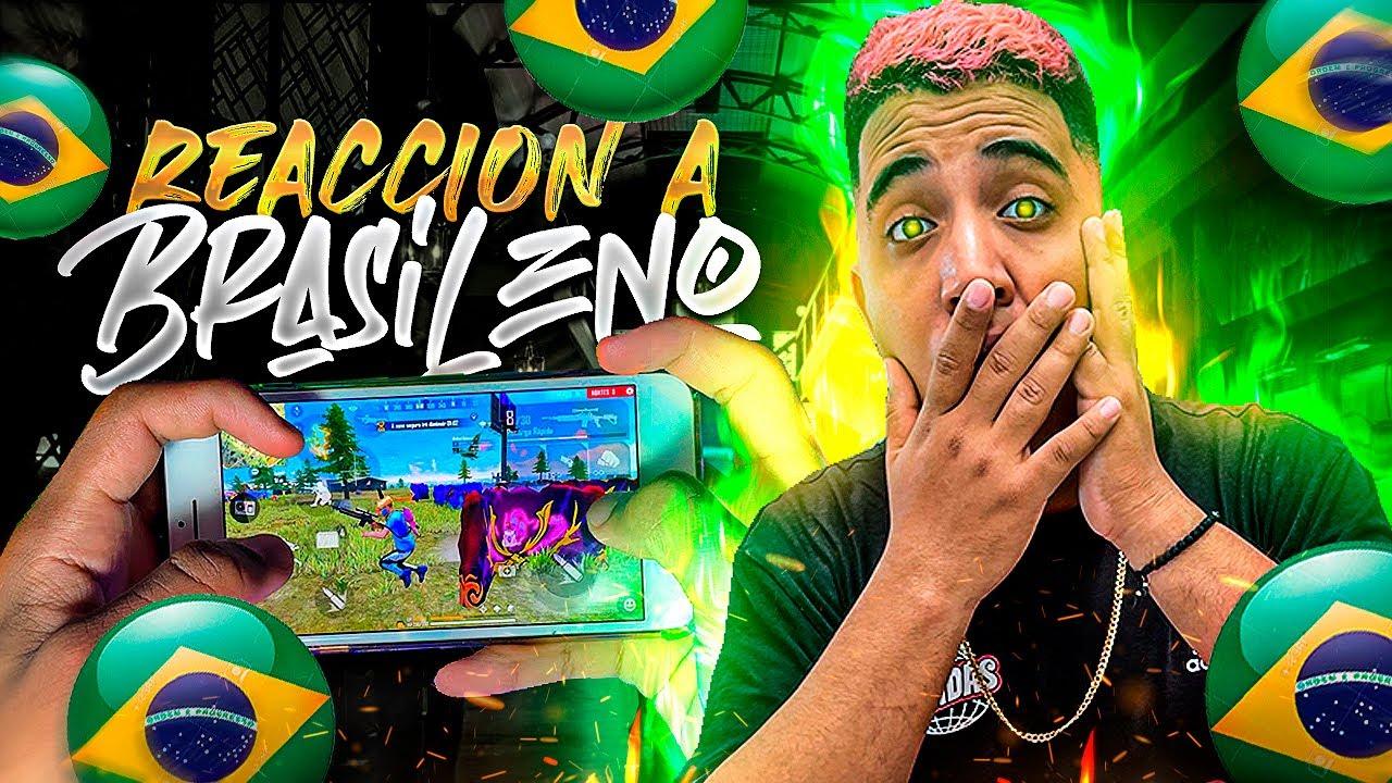 ESTO si es TALENTO PURO!🔥 REACCIONANDO al mejor jugador de BRASIL en MOBILE 🇧🇷 CHARLESz
