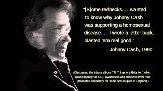 Johnny Cash - AIDS Awareness 1994