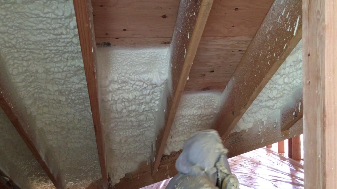 Spray foam insulation open cell vs closed cell - Closed Cell Spray Foam Insulation 1 7 Lb Medium Density