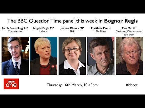 Question Time 16/3/17: Time for Scottish independence, delay Article 50,, NIC cock-up and NHS crisis
