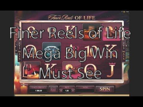 Finer Reels Of Life Mega Big Win - MUST SEE | Microgaming | Novibet Casino