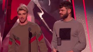 The Chainsmokers Acceptance Speech - Best Collaboration | 2018 iHeartRadio Music Awards