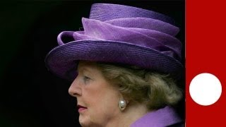 Britons pay their respects as Thatcher leaves Ritz