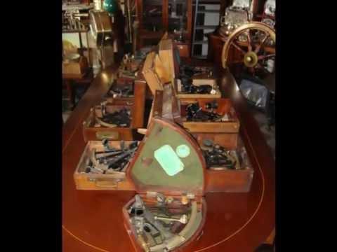 Antiquariato di marina collezionismo strumenti nautici e scientifici Nautical Merchants since 1960