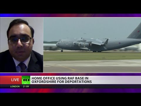 Home Office Using RAF Base In Oxfordshire For Deportations