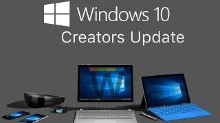 La mise à jour Windows 10 1703 (Creators Update)