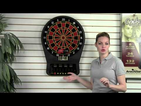 Arachnid CricketPro 650 Electronic Dartboard (Item # E650ARA)