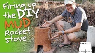 How To Dry A DIY Mud Rocket Stove