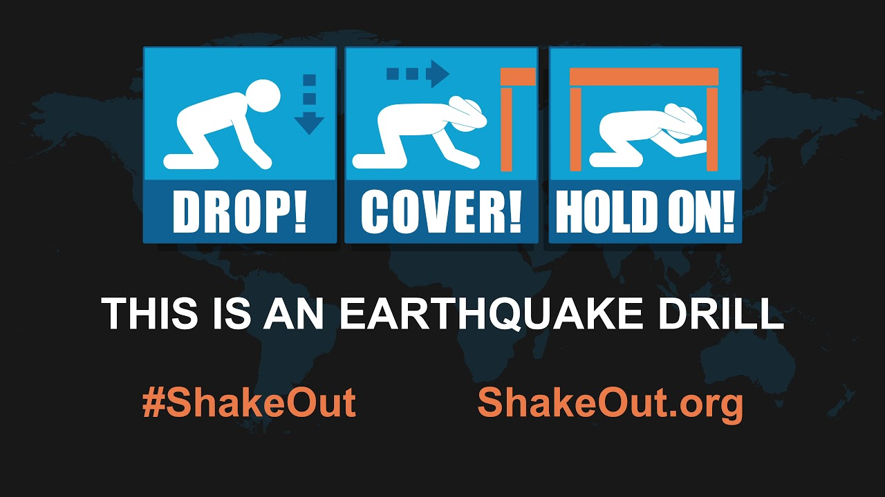 Great ShakeOut Earthquake Drills - Messages, Graphics, and