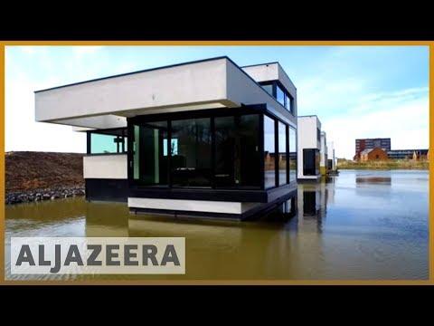 Crean casas anfibias capaces de soportar inundaciones