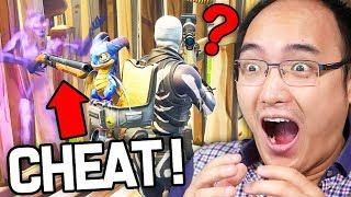 LA FAÇON *CHEAT* POUR FAIRE UN TOP 1 SUR FORTNITE BATTLE ROYALE !