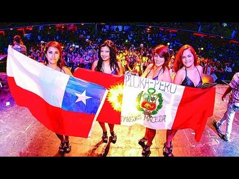 MIX VIDEOS CORAZON SERRANO CONCIERTO EN CHILE 2014