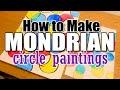Mondrian Circle Painting Lesson