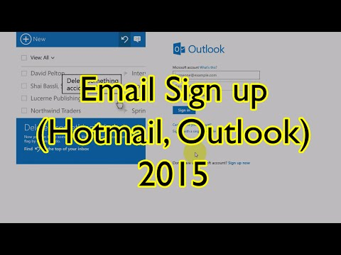 Hotmail Sign up Email (Outlook) [2015] - วิธีสมัครอีเมล Hotmail หรือ Outlook ใหม่ล่าสุด