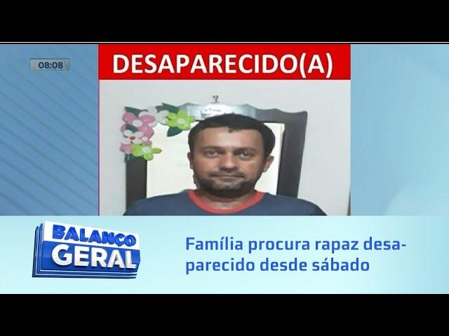 Apelo: Família procura rapaz desaparecido desde sábado