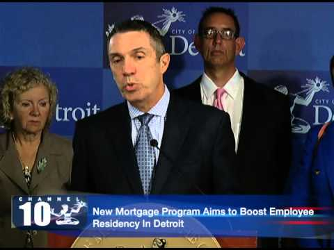 New Mortgage Program Aims to Boost Residency In Detroit