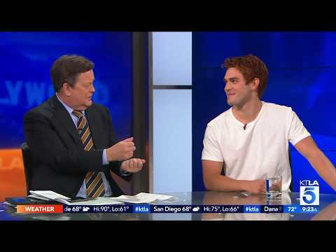 Riverdale's KJ Apa On What It Takes To Get His Hair That Color