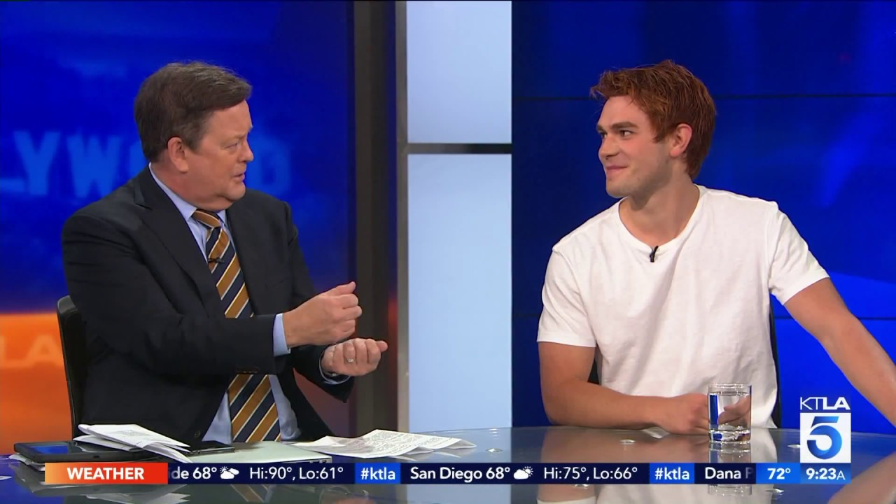 Riverdale S Kj Apa On What It Takes To Get His Hair That Color Youtube
