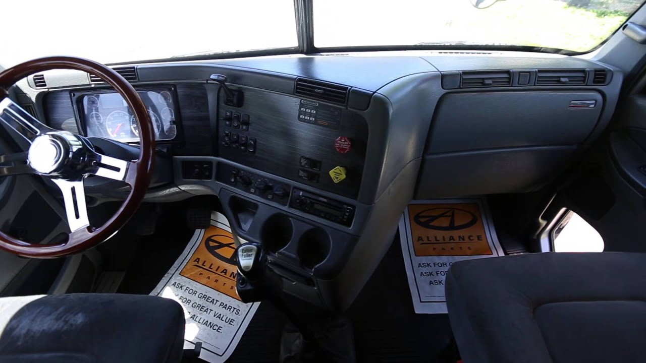 2007 freightliner columbia youtube - 2007 freightliner columbia interior ...