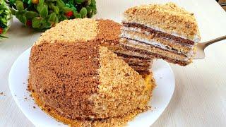 Торт Медовый! Очень вкусный рецепт