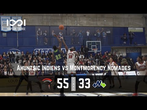Ahuntsic defeats Montmorency in front of huge crowd!!! Montmorency vs Ahuntsic D2 | October 26 2018