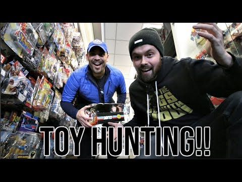 EPISODE 60  TOY HUNTING WITH CINCY NERD AT THE TOY DEPARTMENT! NEW MARVEL LEGENDS, SH FIGUARTS!
