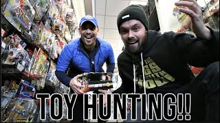 EPISODE 60 - TOY HUNTING WITH CINCY NERD AT THE TOY DEPARTMENT! NEW MARVEL LEGENDS, SH FIGUARTS!