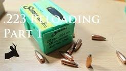 Reloading for my Tikka .223 Rem roe deer hunting rifle. Part 1.