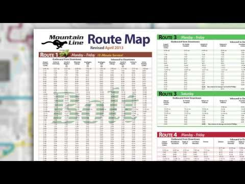How To Read A Bus Schedule