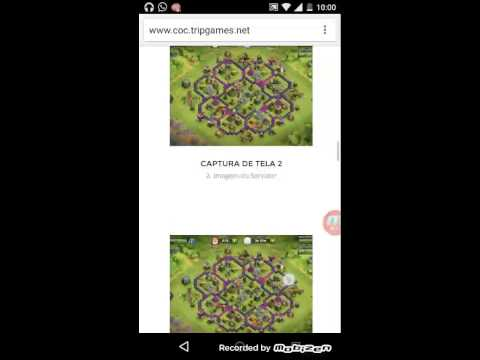 Como baixar hack do clash of clans