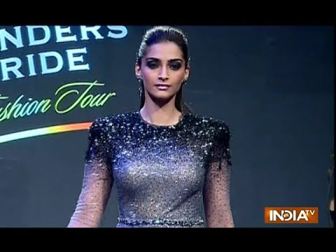 Sonam Kapoor becomes show stopper for Tarun Tahiliani's fashion show