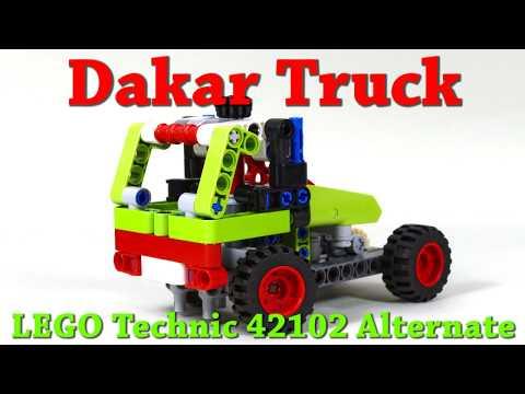 Dakar Truck  - LEGO Technic 42102 Alternate Build/C Model + Instructions/Tutorial