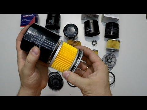Масляный фильтр. Разрезаем фильтр масла и смотрим какой он внутри.