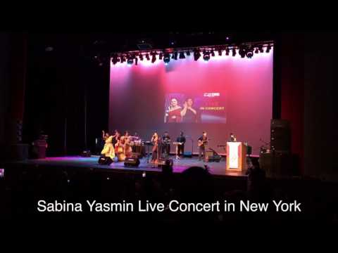 Sabina Yasmin Live Concert in New York 2016