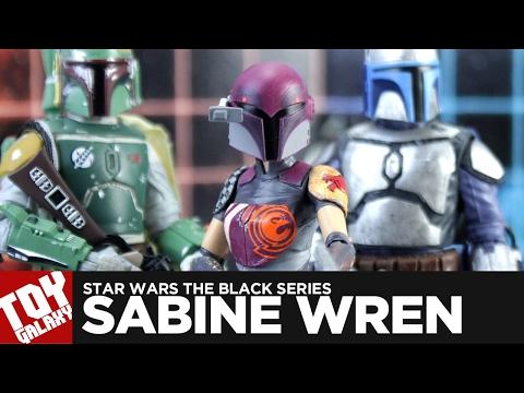 Star Wars The Black Series Sabine Wren Review