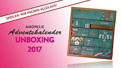 Amorelie Adventskalender 2017 UNBOXING - Achtung Spoiler: Wir packen alles aus!