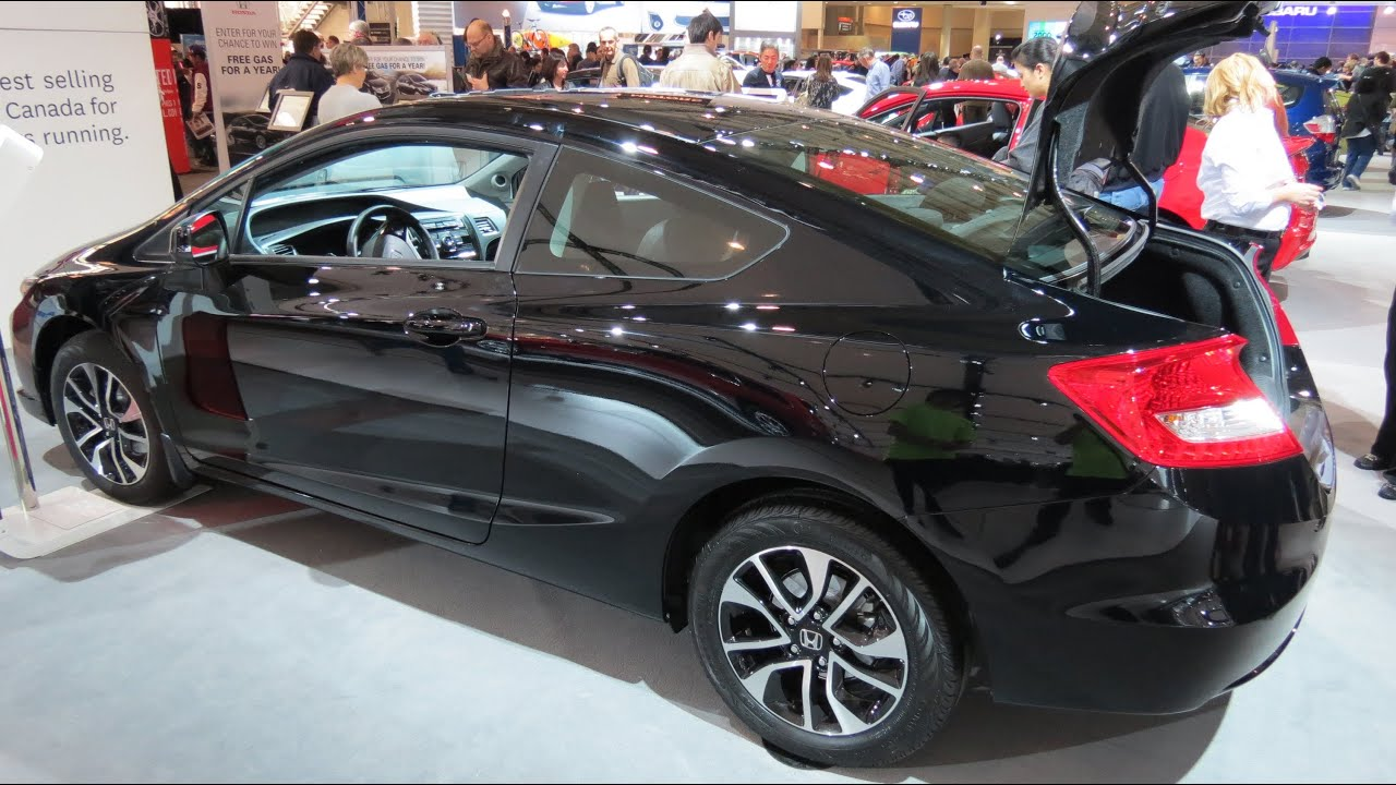 2013 honda civic coupe ex at the 2013 canadian int auto. Black Bedroom Furniture Sets. Home Design Ideas