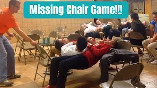 MISSING CHAIR GAME!!! (SUPER FUN YOUTH GROUP ICEBREAKER!!!)