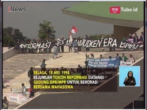 Kronologi Reformasi Mei 1998, Terjungkalnya Kekuasaan Soeharto - iNews Siang 21/05